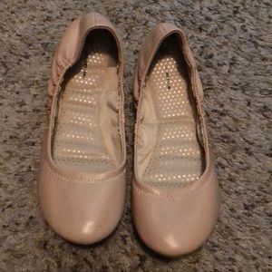 Details about  /Time And Tru Women/'s Tan Ballet Flats Size 9.5